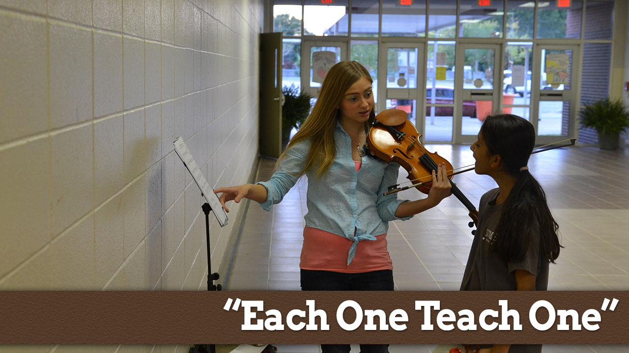 article on each one teach one Each one, teach one reading program finds success by involving parents,  student volunteers  that research is the inspiration behind the each one, teach  one program teacher mary ann bash created and  share article.