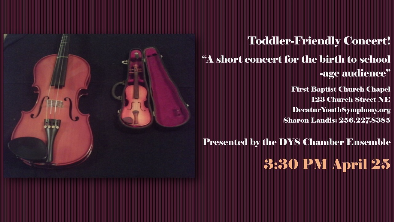Toddler-Friendly Concert 2014